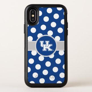BRITISCHES Tupfen-Muster Kentuckys | OtterBox Symmetry iPhone X Hülle