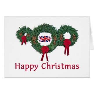Britisches Weihnachten 2 Karte