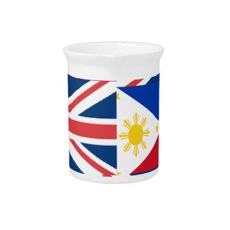BRITISH-FILIPINO GETRÄNKE PITCHER