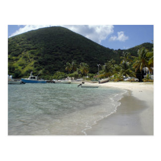 British Virgin Islands - Jost Postkarte