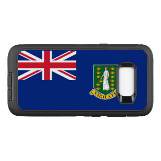 British Virgin Islands OtterBox Defender Samsung Galaxy S8+ Hülle