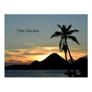 British Virgin Islands, Sonnenuntergang Postkarte