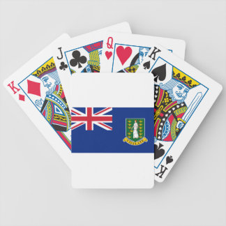British- Virgin Islandsflagge Bicycle Spielkarten