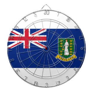 British- Virgin Islandsflagge Dartscheibe