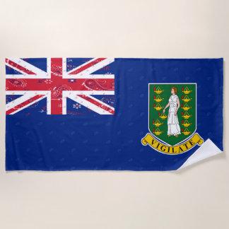 British- Virgin Islandsflaggen-Badetuch Strandtuch