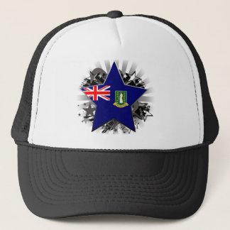 British- Virgin Islandsstern Truckerkappe