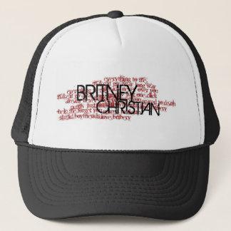 Britney christlicher Lied-Namen-Hut Truckerkappe