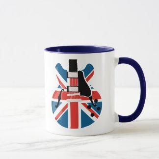 Britpop Gitarre Tasse