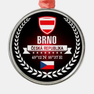 Brno Silbernes Ornament