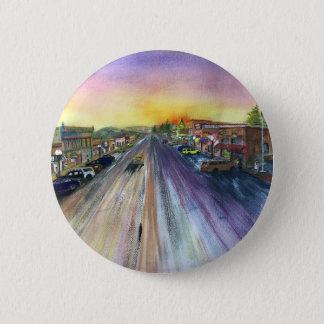 Broadway Runder Button 5,7 Cm