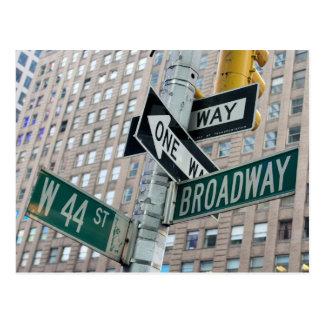 Broadway u. 44. - New- York Citypostkarte Postkarte