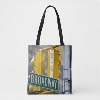 Broadway-Zeichen Tasche