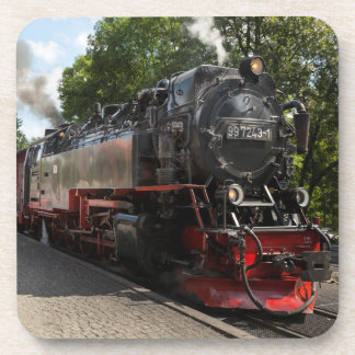 Brockenbahn Brocken Eisenbahn-Foto Getränkeuntersetzer