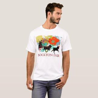 Brockton angemessenes Pferde-und Wagen-T-Stück T-Shirt