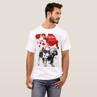 Brockton Boxer-Spritzen-T-Stück T-Shirt
