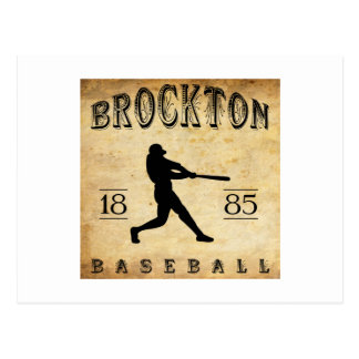 Brockton Massachusetts Baseball 1885 Postkarte