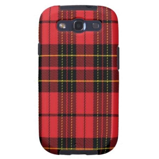 Brodie schottischer Tartan Samsung rufen Fall an Galaxy S3 Etui