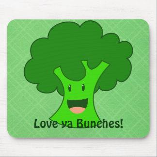 Brokkoli-Bündel Mauspad