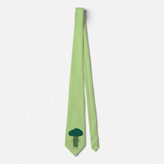 Brokkoli, der glückliches Baumkopf-Grüngemüse Krawatte