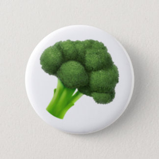 Brokkoli - Emoji Runder Button 5,7 Cm
