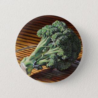Brokkoli-Krone Runder Button 5,7 Cm