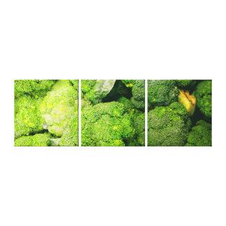 Brokkoli-Leinwand-Drucke Leinwanddruck