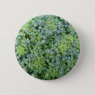 Brokkoli-Makroknopf Runder Button 5,7 Cm