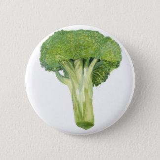 Brokkoli Runder Button 5,7 Cm