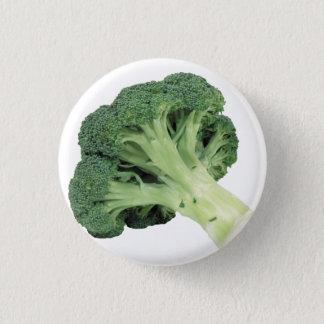 Brokkoli-Standard, 2 ¼ Zoll-runder Knopf Runder Button 3,2 Cm