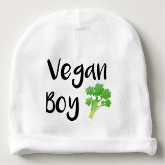 """Brokkolibaby """"des veganen Jungen"""" Babymütze"""
