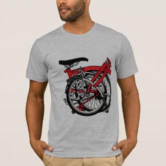 Brompton Fahrrad gefaltet T-Shirt