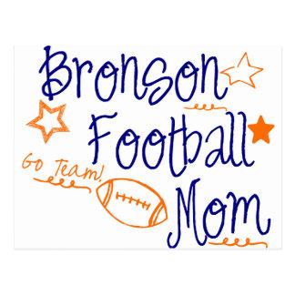 Bronson-Fußball-Mamma Postkarte