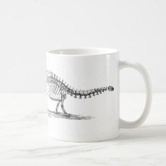 Brontosaurus-Dinosaurier-Antiken-Druck Kaffeetasse