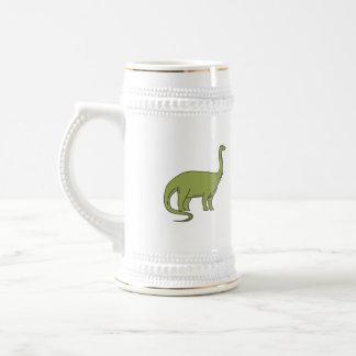 Brontosaurus-Monolinie Bierglas