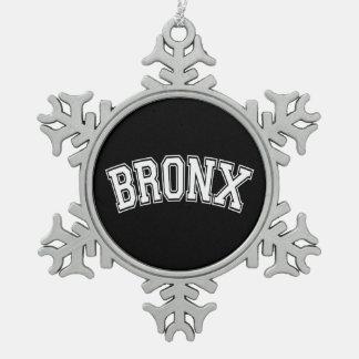 BRONX SCHNEEFLOCKEN Zinn-Ornament
