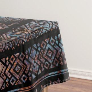 Bronze und Rost Vintages aztekisches peruanisches Tischdecke