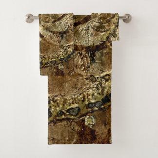 Bronzegreife durch Deprise Badhandtuch Set