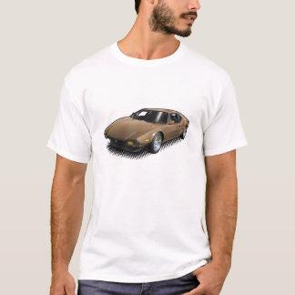 BronzePantera auf weißem T - Shirt