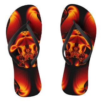 Bronzeschönheit Flip Flops