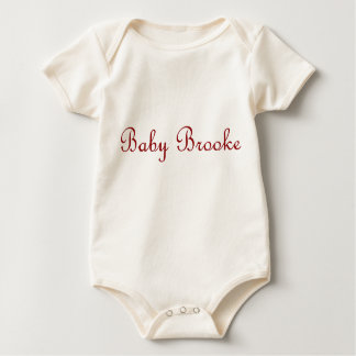 brooke baby strampler