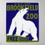 Brookfield Zoo-Plakat