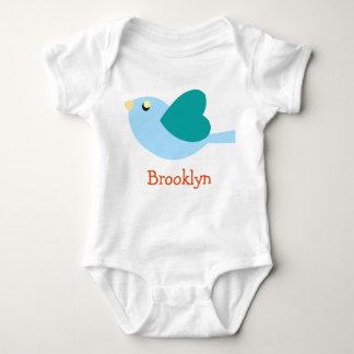 BROOKLYN-Babyname personalisiert Baby Strampler
