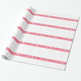 Brooklyn-Briefmarke Geschenkpapier