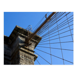 Brooklyn-Brücke 01 Postkarte