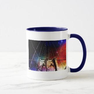 Brooklyn-Brücke - Galaxien - NYC Tasse
