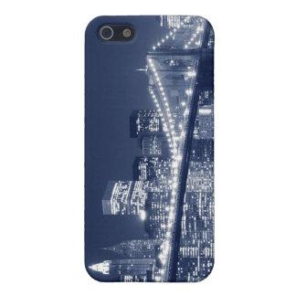 Brooklyn-Brücke nachts, New York City iPhone 5 Hülle