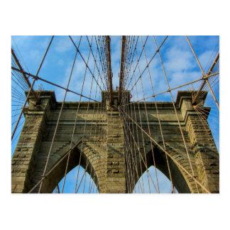 Brooklyn-Brücke, New York City - Postkarte