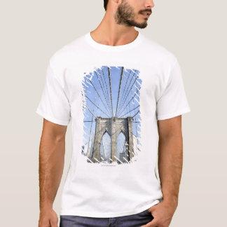Brooklyn-Brücke, New York, NY, USA T-Shirt