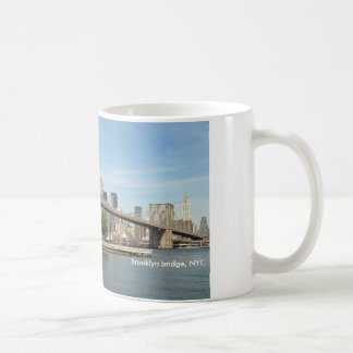 Brooklyn-Brücke, NYC Kaffeetasse