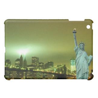 Brooklyn-Brücke und das Freiheitsstatue iPad Mini Hülle